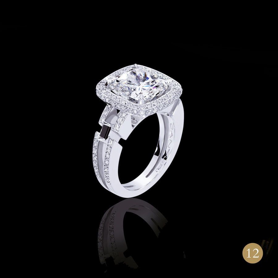 Metropolis diamond engagement ring by Stefano Canturi