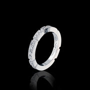 Regina diamond ring in 18ct white gold by Stefano Canturi