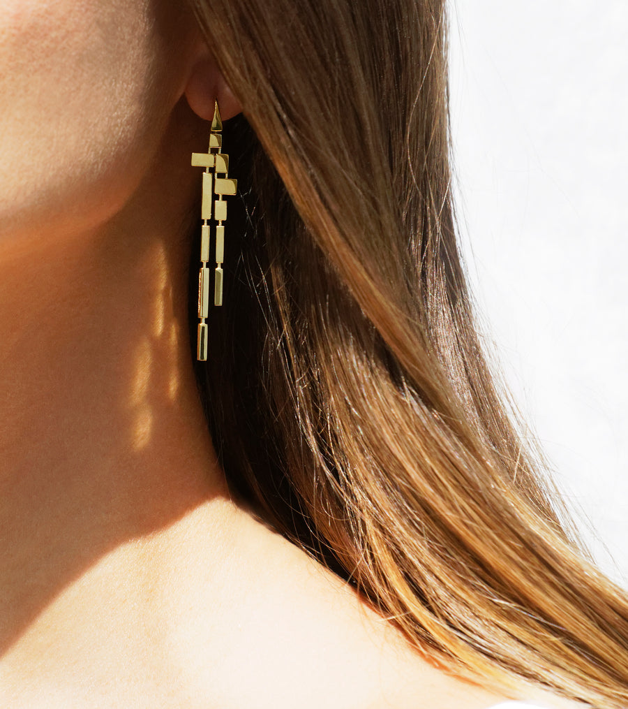 Cubism Drop Earrings