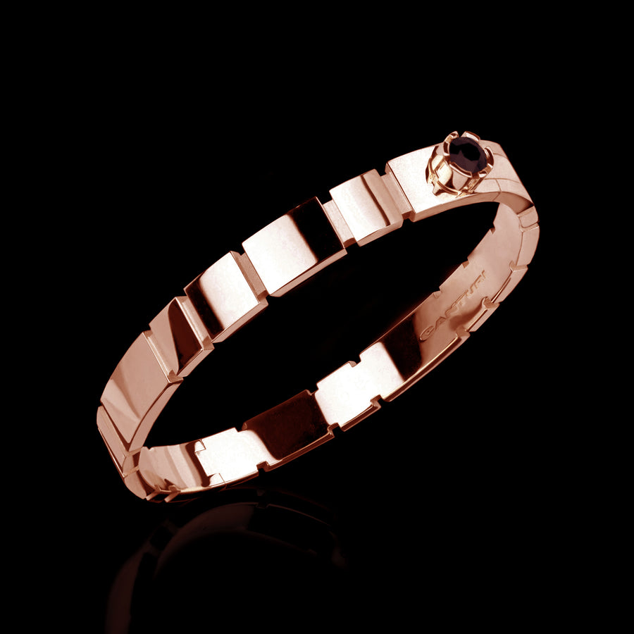 Eternal plain bangle set in 18ct pink gold by Stefano Canturi