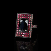 Captivo australian black sapphire and ruby ring by Stefano Canturi