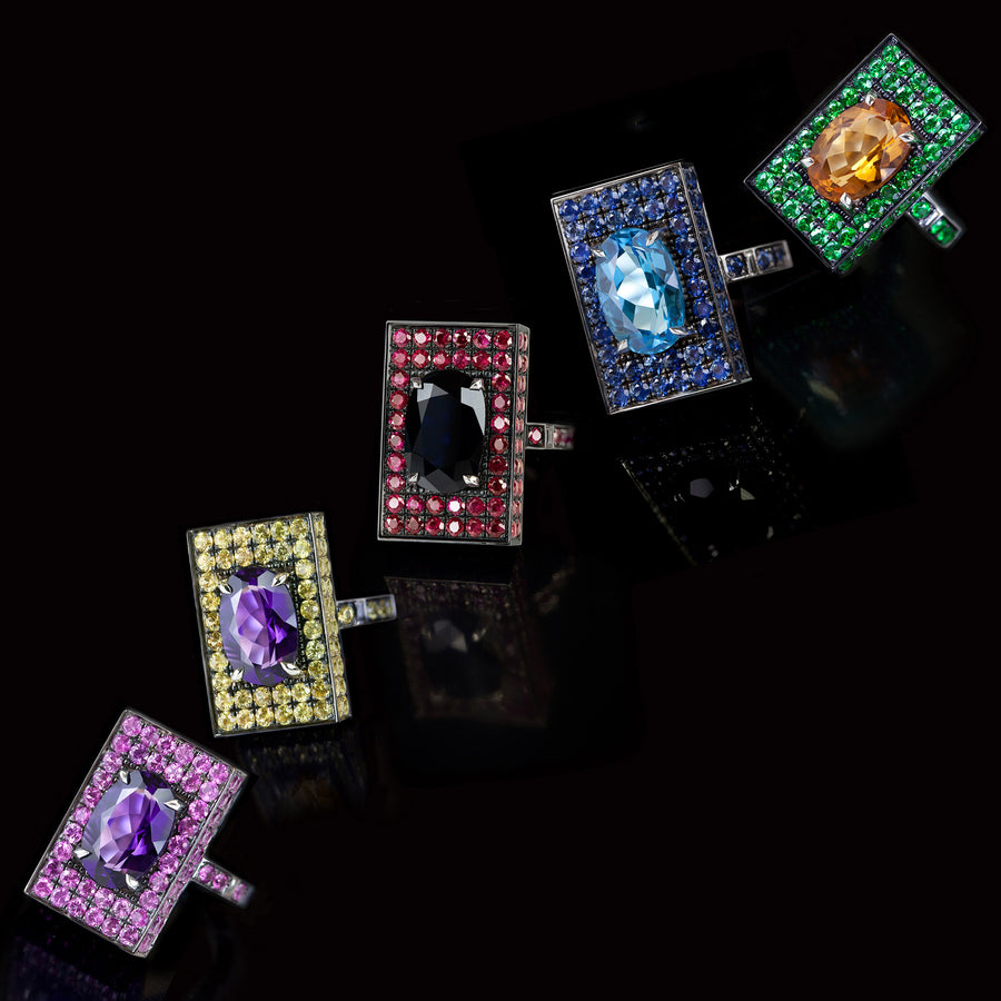 Captivo gemstone rings by Stefano Canturi