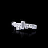 Cubism Radiant Diamond Ring set in 18ct White Gold by Stefano Canturi