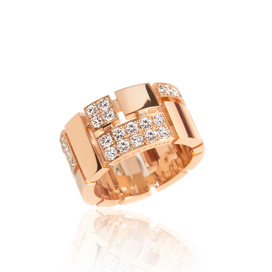 Cubism Pave diamond ring by Stefano Canturi