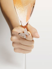 Odyssey diamond Butterfly ring by Stefano Canturi