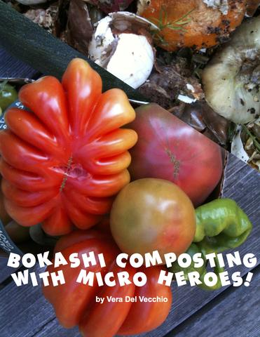 FREE EBOOK - Bokashi Composting with Micro heroes by Vera Del Vecchio