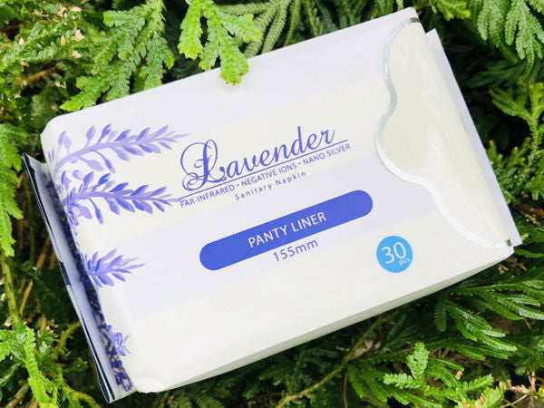 Lavender Panty Liners (155mm) 30 Pack