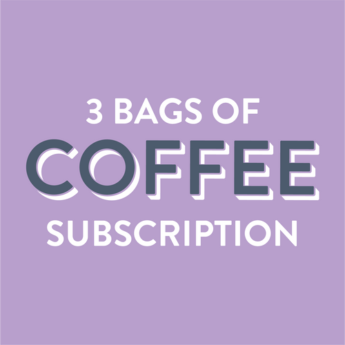 Coffee Subscription 3 Bags - Grain and Grind