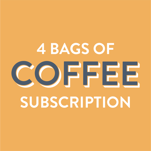 Coffee Subscription 4 Bags - Grain and Grind