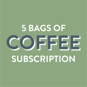 Coffee Subscription 5 Bags - Grain and Grind