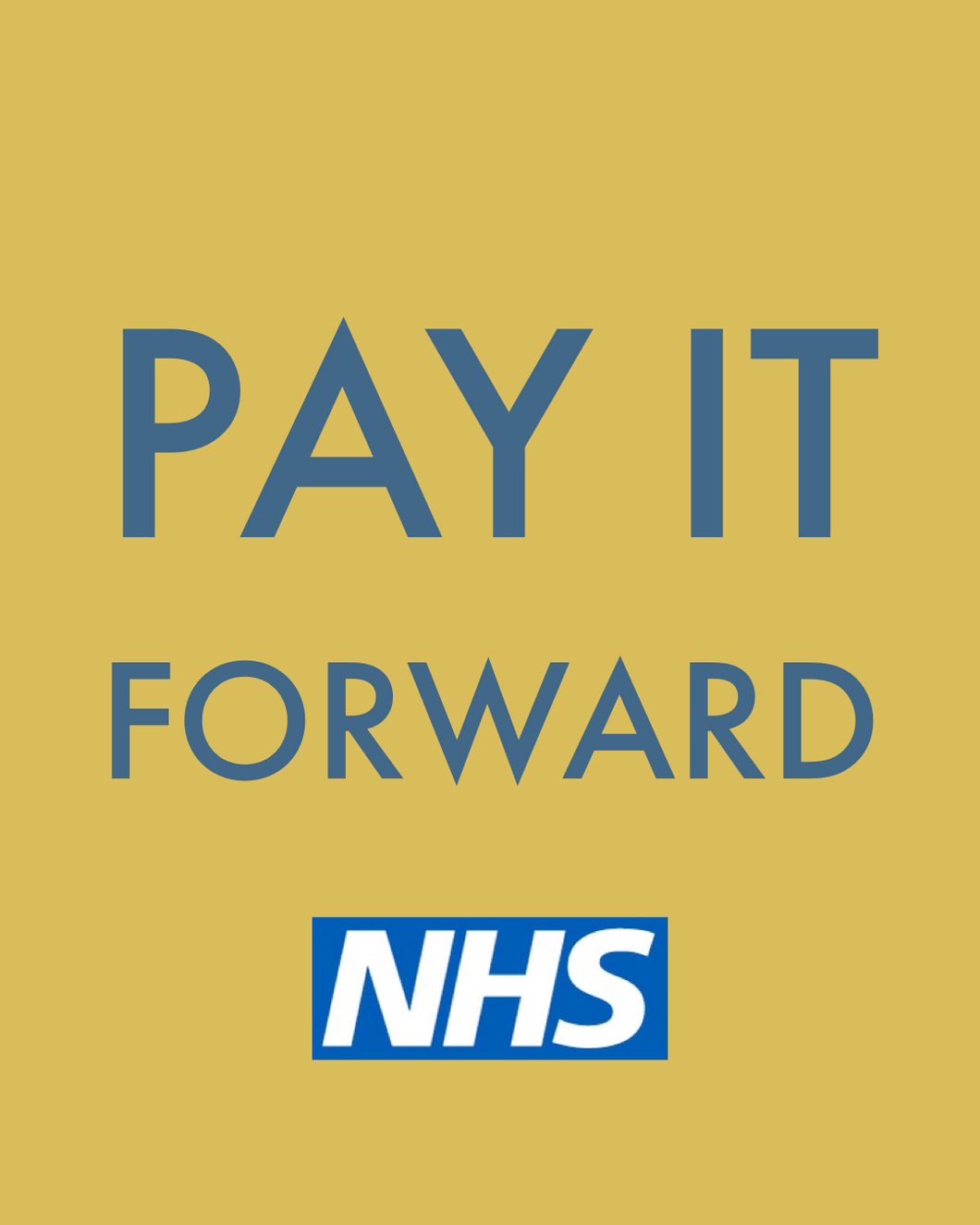 Pay It Forward for the NHS - Grain and Grind