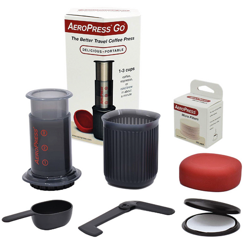 Aeropress GO! Coffee Bundle - Grain and Grind