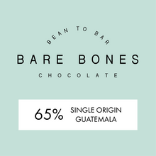Load image into Gallery viewer, Bare Bones Guatemalan 65% Dark Chocolate - Grain and Grind