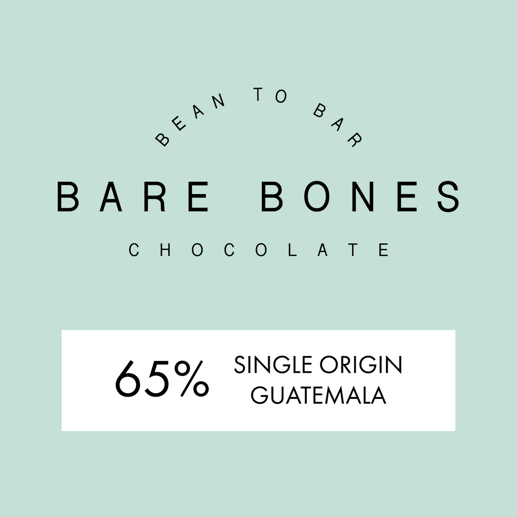 Bare Bones Guatemalan 65% Dark Chocolate - Grain and Grind