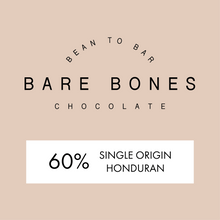Load image into Gallery viewer, Bare Bones Honduras 60% Milk Chocolate - Grain and Grind