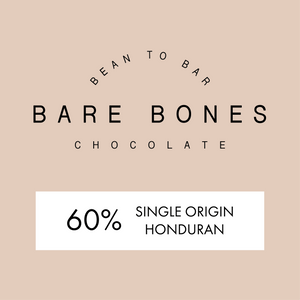 Bare Bones Honduras 60% Milk Chocolate - Grain and Grind