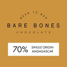 Load image into Gallery viewer, Bare Bones Madagascar 70% Dark Chocolate - Grain and Grind