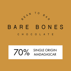 Bare Bones Madagascar 70% Dark Chocolate - Grain and Grind