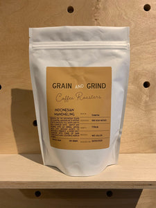 Indonesian Mandheling - Grain and Grind