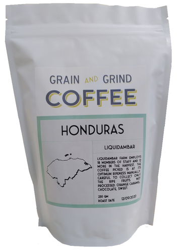 Honduras Liquidambar - Grain and Grind