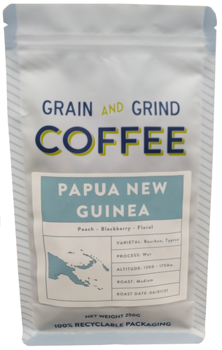 Papua New Guinea Enorga - Grain and Grind