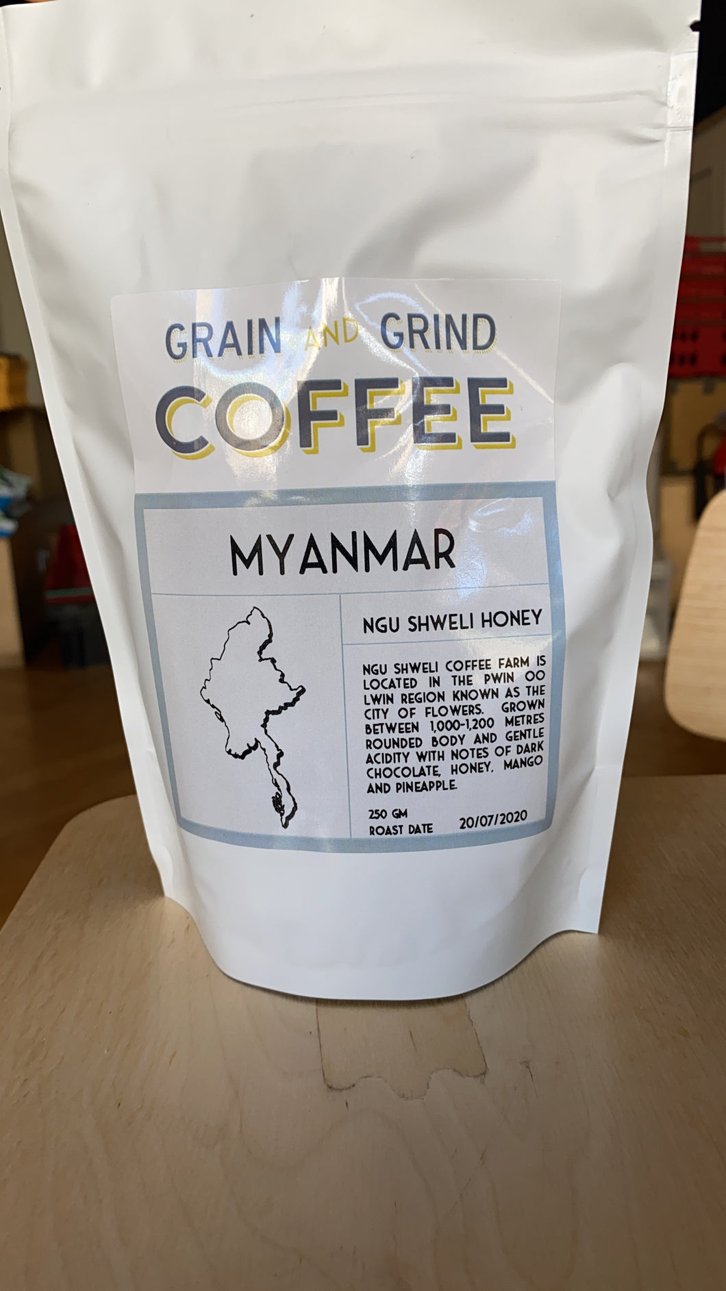 Myanmar Ngu Shweli Honey - Grain and Grind