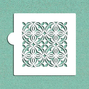 Casablanca Tile Cookie and Craft Stencil