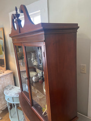 Breakfront China Cabinet