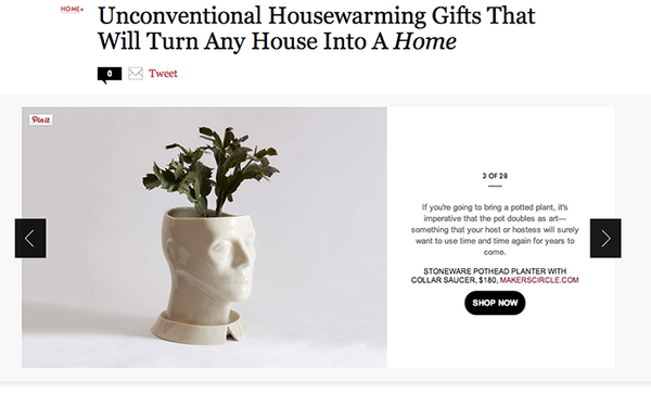 marta pia pothead unconventional housewarming gifts