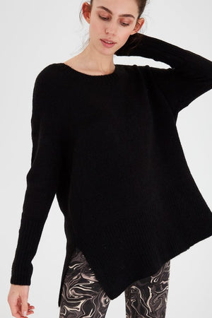 AMARA LONG TUNIC (BLACK)
