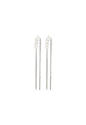 CHERISHED THREADER EARRING (SILVER)