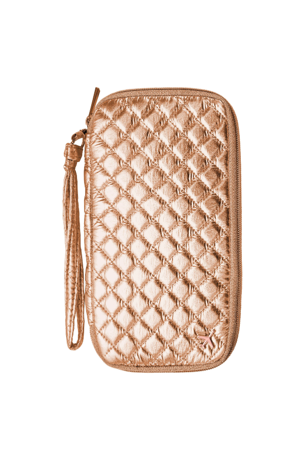 PASSPORT HOLDER (ROSE GOLD)