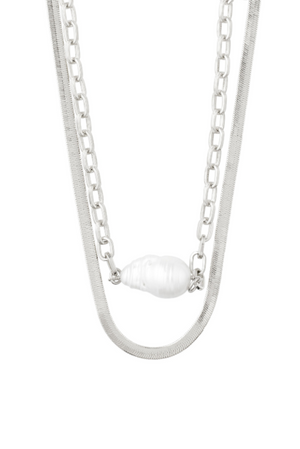 GREATFULNESS NECKLACE (SILVER)