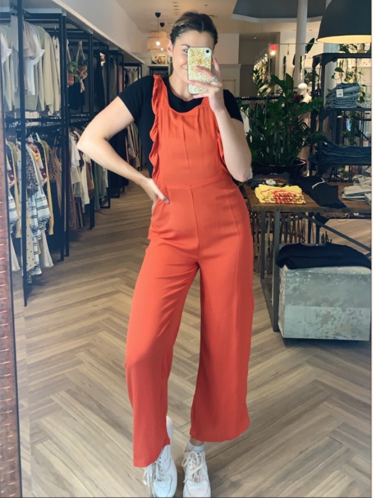 STRAWBERRY CREAM JUMPSUIT