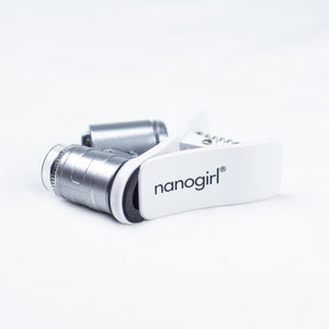 Nanogirl Clip-On Microscope