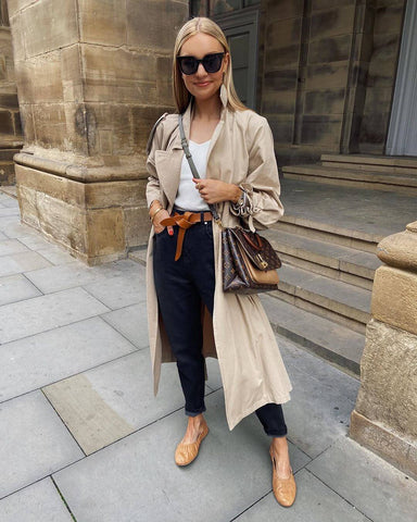 Classic Trench Layered Over Everything