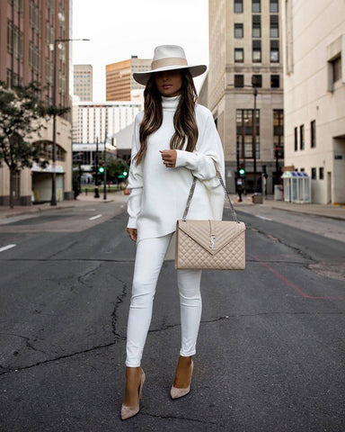 White on White with a Touch of Beige