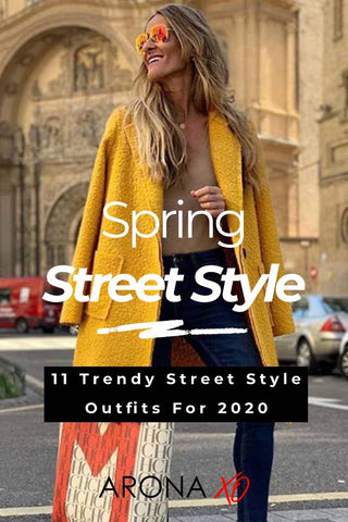 Fashion blog: 11 Trendy Street Style Outfits For 2020
