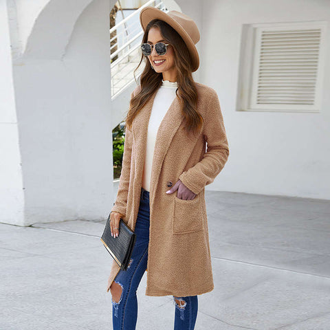 Fashion blog: cute spring outfits for women - long sleeve coat