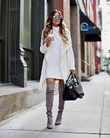 fall knit outfit
