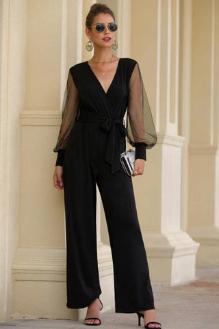Fashion blog: 11 Cute birthday outfits for women - woman wearing lantern sleeve jumpsuit