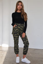Load image into Gallery viewer, High Waist Cargo Jogger Pants - Arona XO