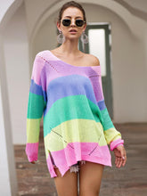Load image into Gallery viewer, Scoop Neck Oversize Sweater - Arona XO