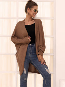Long Sleeve Loose Knitted Cardigan - Arona XO