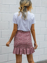 Load image into Gallery viewer, Ditsy Floral Wrap Mini Skirt - Arona XO