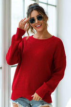 Load image into Gallery viewer, Red Crewneck Sweater - Arona XO
