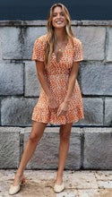 Load image into Gallery viewer, Short Sleeve Skater Dress - Arona XO