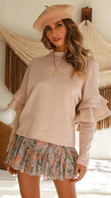 Load image into Gallery viewer, Flare Sleeve Loose Sweater - Arona XO