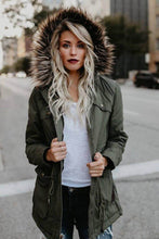 Load image into Gallery viewer, Faux Fur Parka - Arona XO