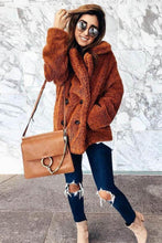 Load image into Gallery viewer, Faux Fur Shearling Coat - Arona XO